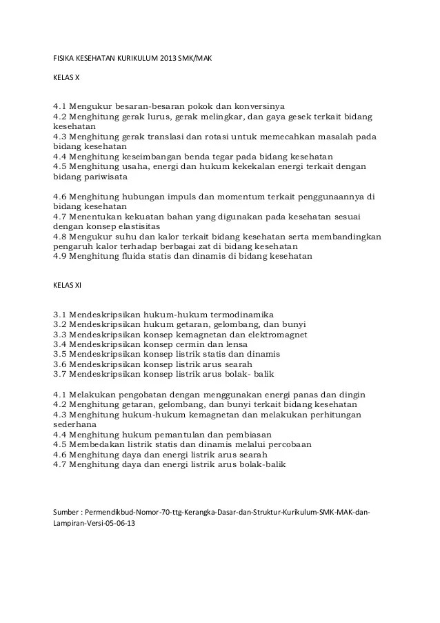 Materi Matematika Smk Kelas Xi Semester 1 Buku Kurikulum 2013 Kurikulum Nasional Sma Smk Ma Kelas 10 Materi Fisika Kesehatan Kurikulum 2013 Smk Kelas X Dan Xi Pristiadi