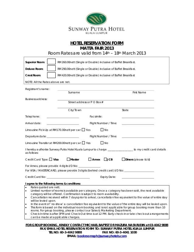 hotel reservation form - Heartimpulsar