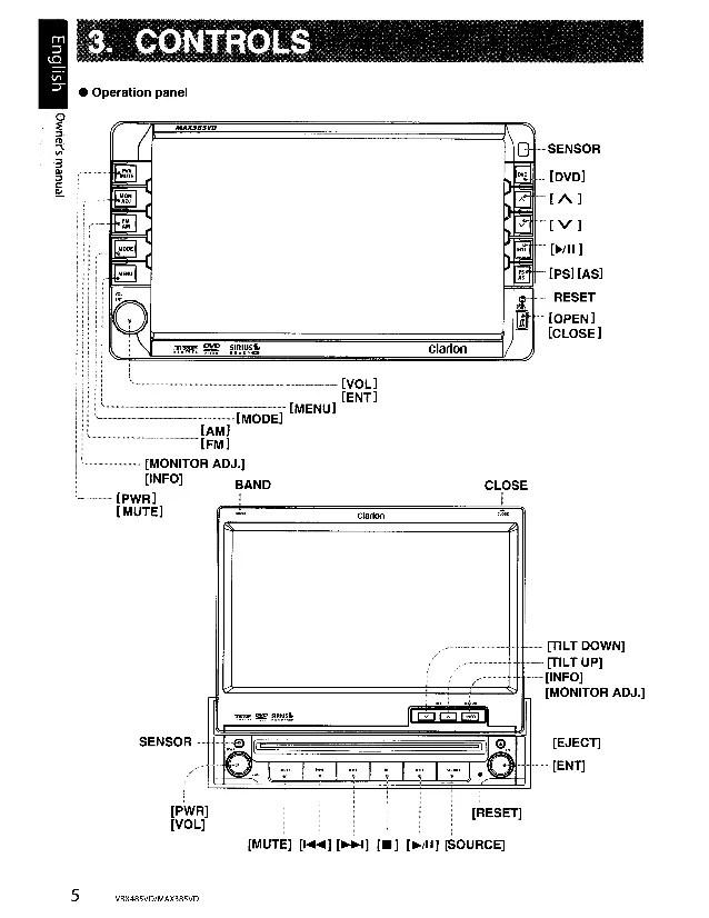 Clarion Xmd1 Wiring Diagram Wiring diagram for clarion xmd
