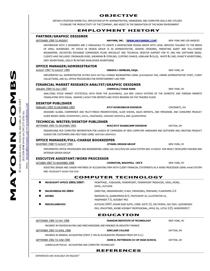 office manager bookkeeper resume - Selol-ink - office manager bookkeeper resume