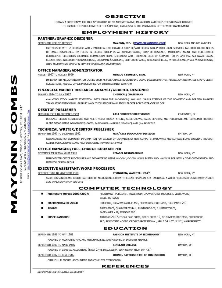 office manager bookkeeper resume - Vatozatozdevelopment - accounting bookkeeper sample resume