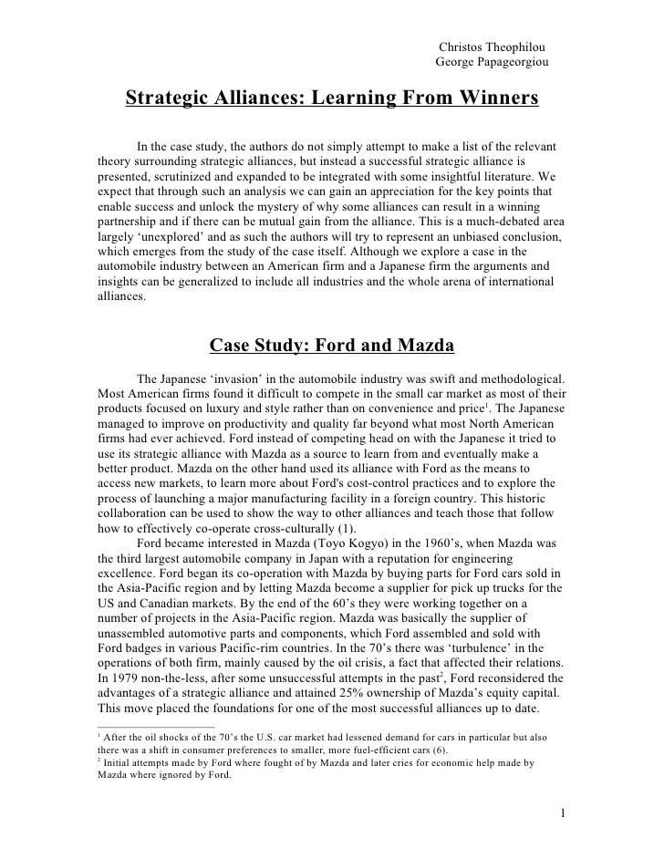 Michigan based business essay?