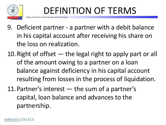 AC102 PPT8 - Partnership Liquidation Lump Sum (PPT from Sir Leandro F…