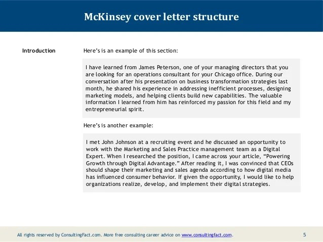 cold call cover letter internship