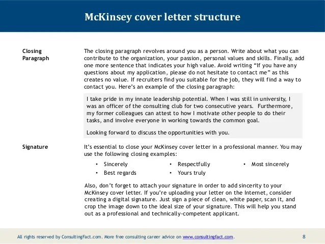 Cover letter closing paragraph