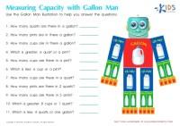 Gallon Man Worksheet Free Worksheets Library   Download ...