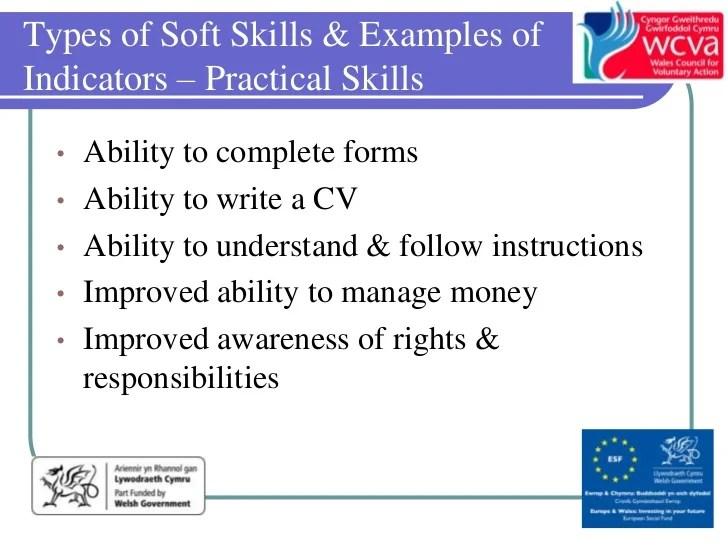 types of skills cv
