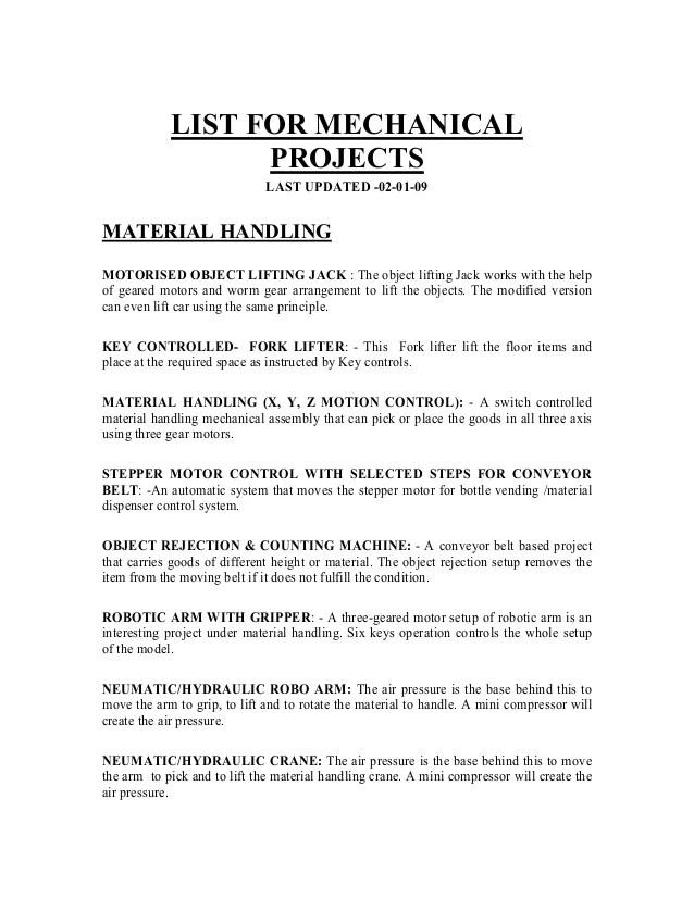 mechanicalproject