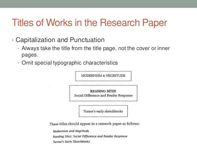 research paper example title page