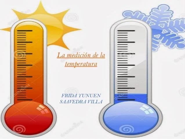 Medecion De La Temperatura