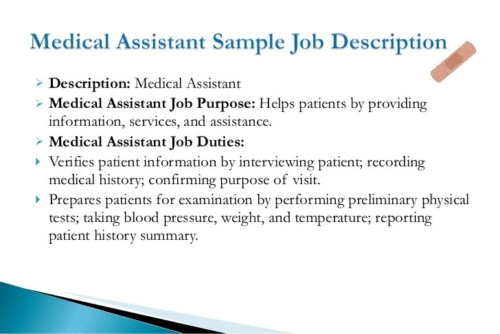 clerical duties of a medical assistant - Onwebioinnovate - clerical duties