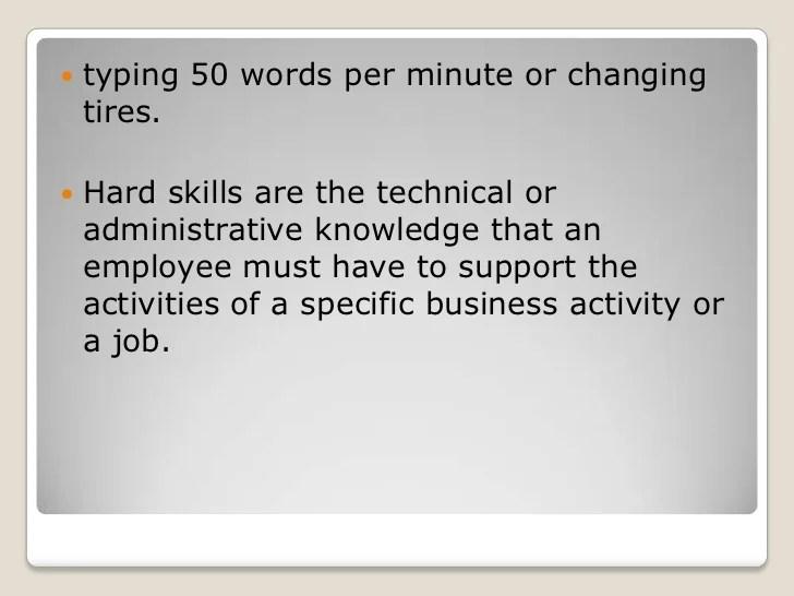 resume words for language skills