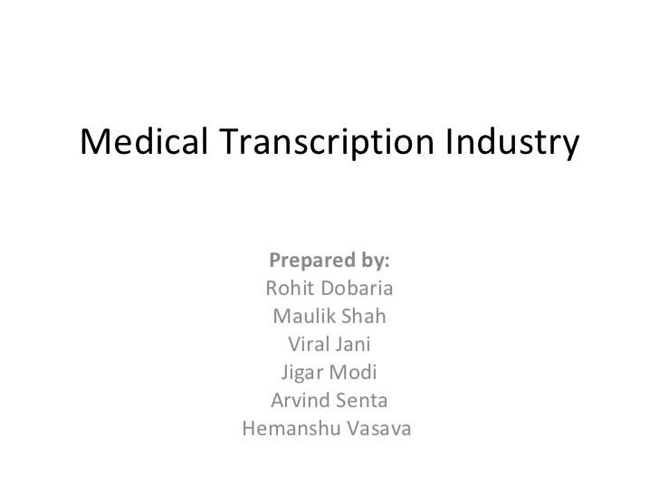 medical transcription resume format