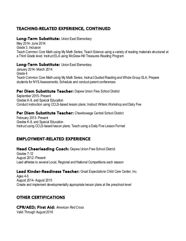 Cover Letter Elementary Teacher Cover Letter Format Interesting Education  Cover Letter Resume Elementary  Resume For Elementary Teacher
