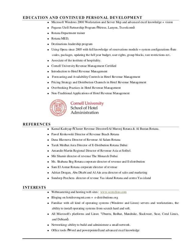 restaurant server resume samples - zrom