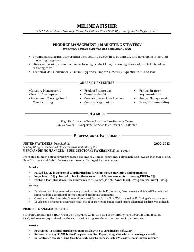 resume paper walmart