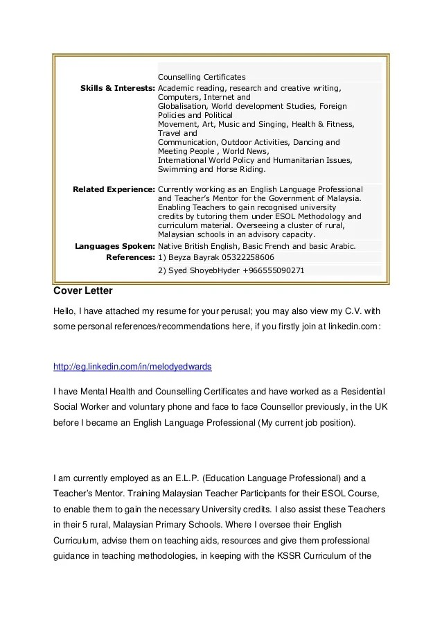 Resume Cover Letter Examples Get Free Sample Cover Letters Melody Resume And Cover Letter 1 St Feb 2013