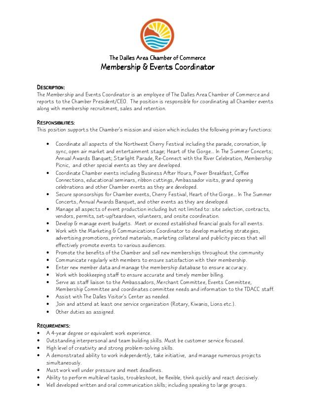 Event Planner Resume Objective – Event Planner Job Description
