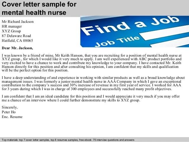 Cover Letter For Mental Health Job Costumepartyrun