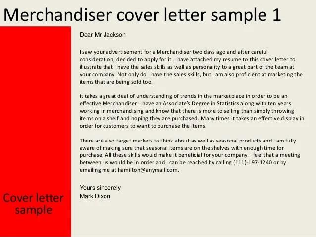 sales merchandiser cover letter - Goalgoodwinmetals