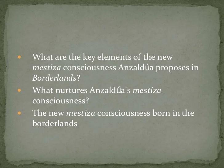 mestiza consciousness