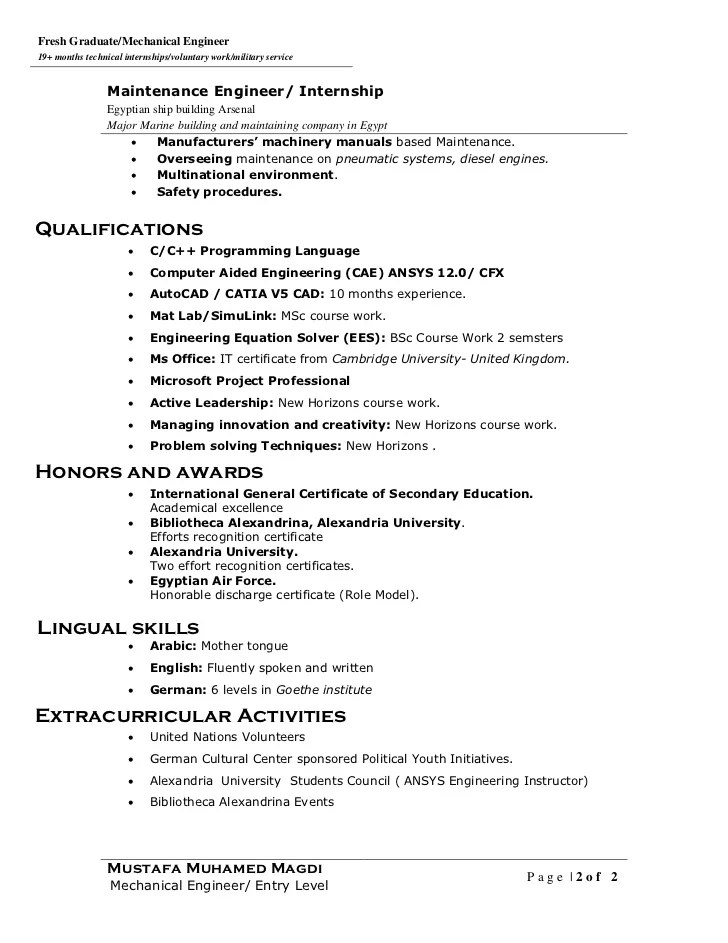 curriculum vitae example musician resume project officer samples