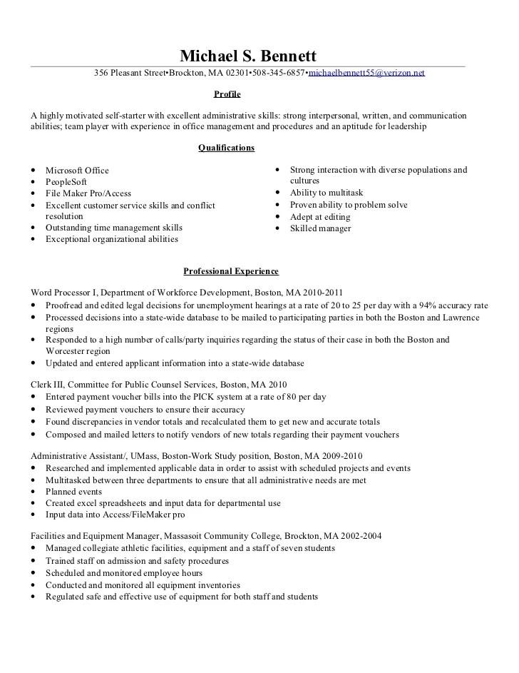 Best summary qualifications resume