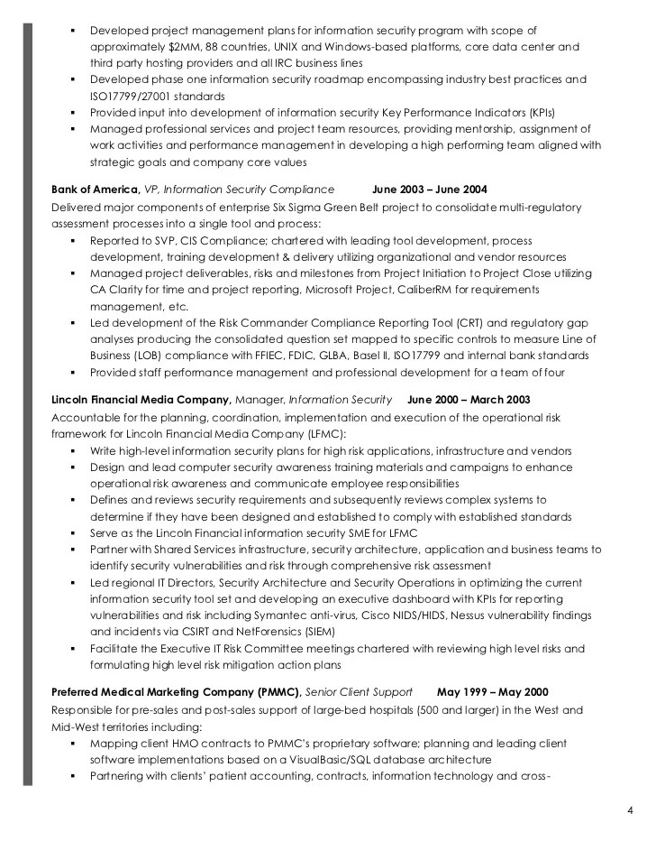 Security Analyst Sample Resume It Security Analyst Sample Resume - information security analyst sample resume