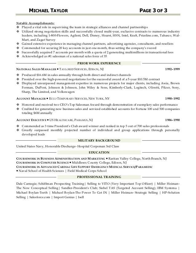 Examples Of Resumes Marketing Marketing Resume Samples Marketing Resumes Examples And Michael Taylor Resume Sales Business Developmentaccount