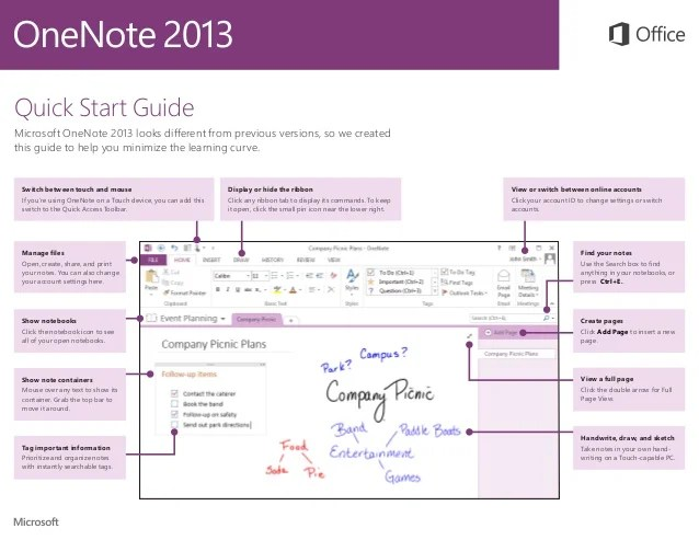 templates for onenote 2013