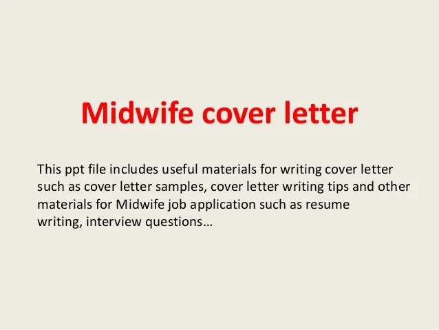 resume sample for midwife