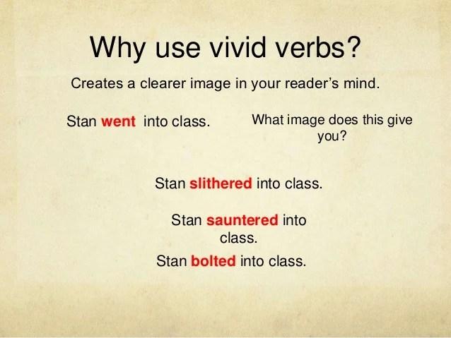 Mini lesson verbs