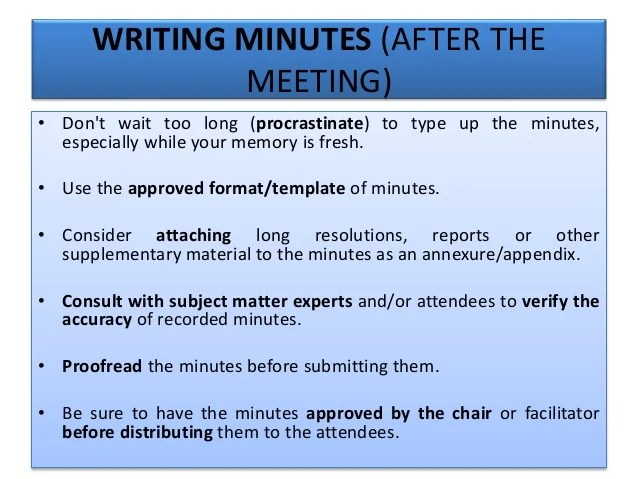 how to type up minutes from a meeting template - Acurlunamedia - best minutes of meeting template