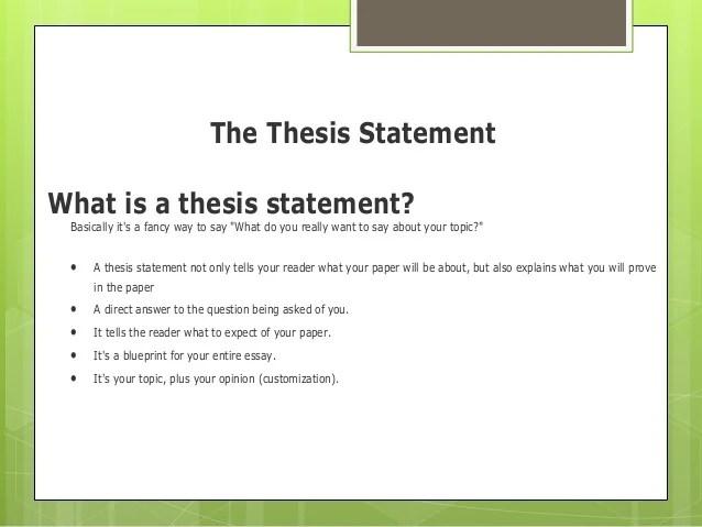 analysis essay thesis