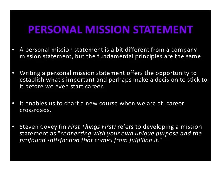 personal commitment statement examples - Apmayssconstruction