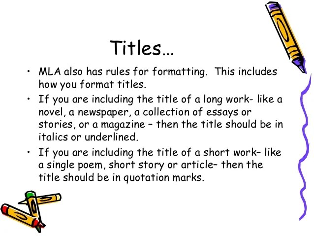 mla work citation format - Mersnproforum - how to write a mla citation