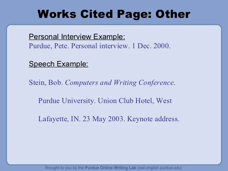 mla work cited template