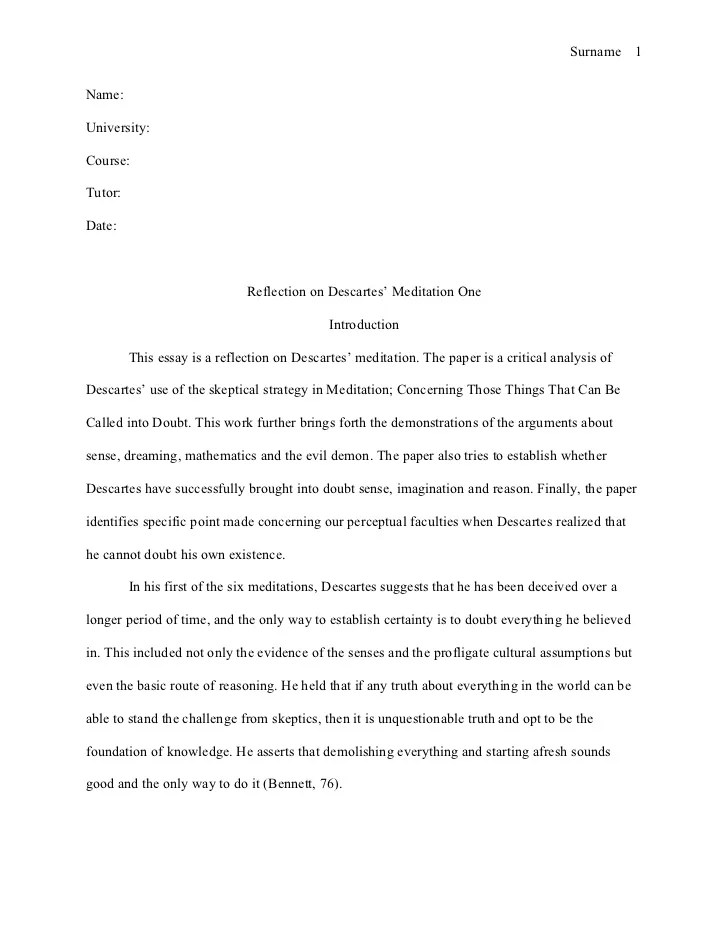 Introduction informal letter essay
