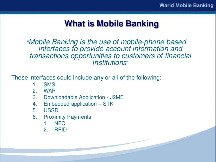 Mobile Banking 2010