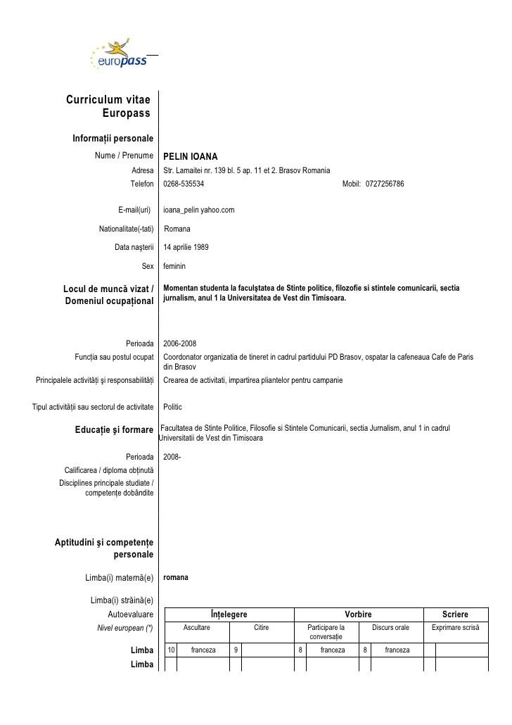model cv html