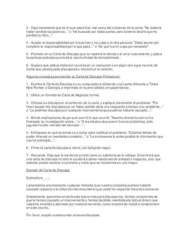 formato de carta oficial intoanysearch