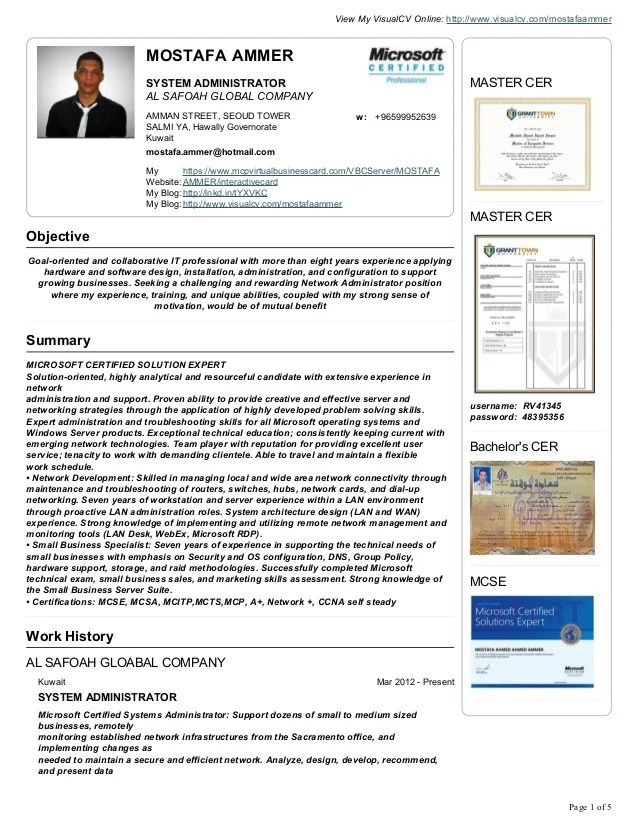 Aroj Resume Samples Free Sample Resume Examples Mostafa Ammer Cv Resume