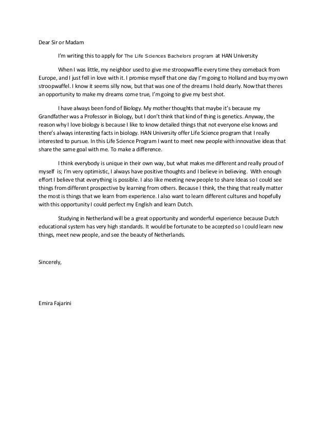 How To Write A Letter Of Application For A Job 13 Steps Motivation Letter
