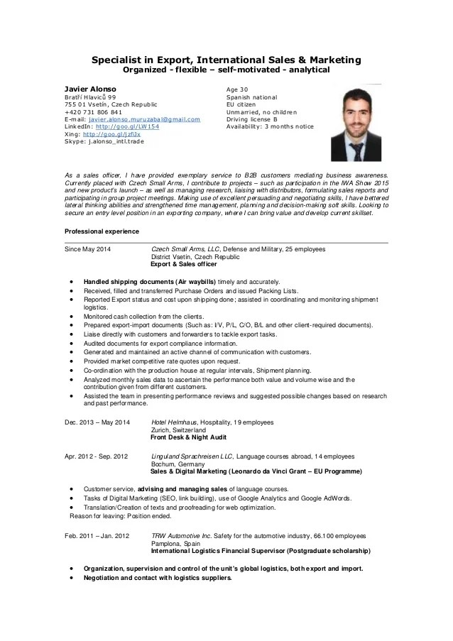 it sales cv - Ozilalmanoof - Sales Administration Sample Resume