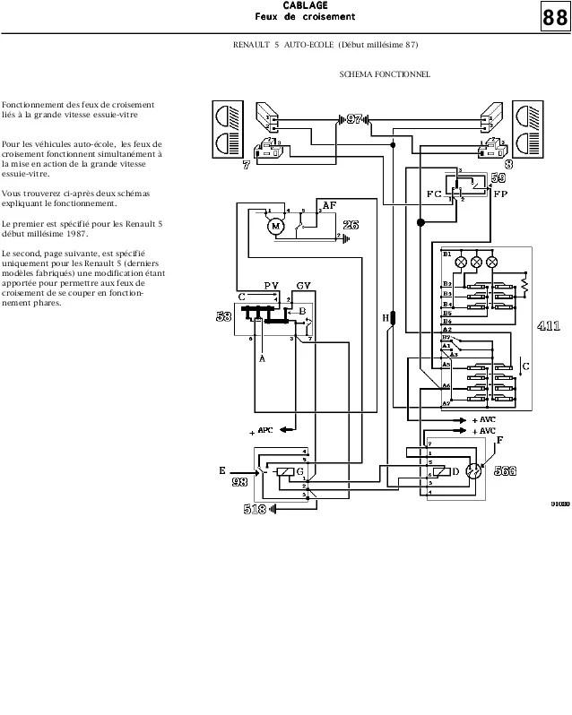 2002 vw gti vr6 Schema moteur