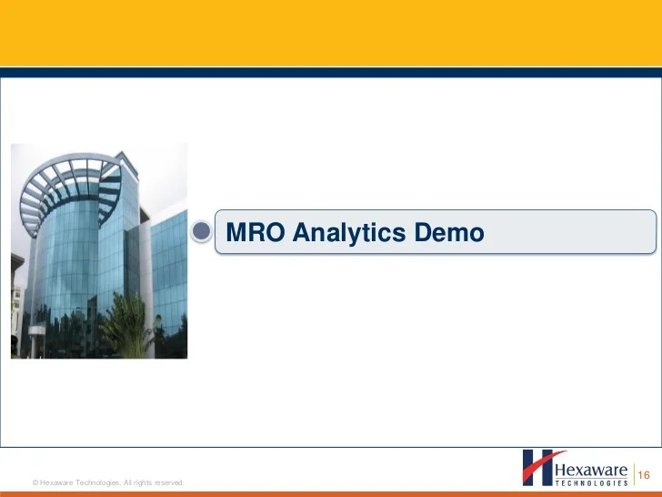 Select Vs Poll Performance Business Analytics For The Airline Mro Industry An