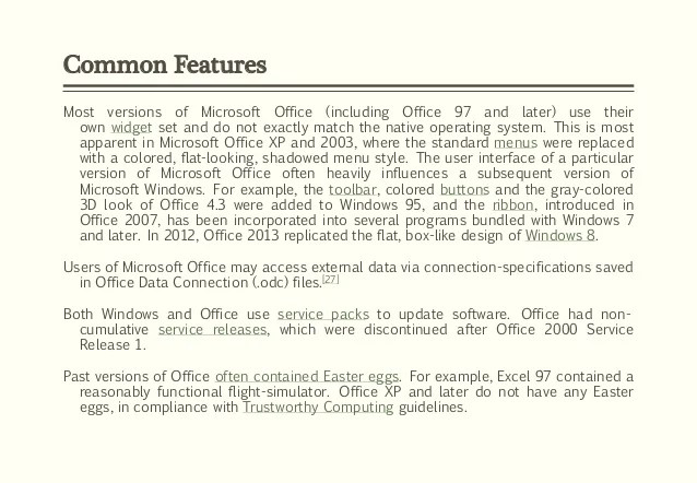 microsoft office easter eggs - Intoanysearch - microsoft word easter egg
