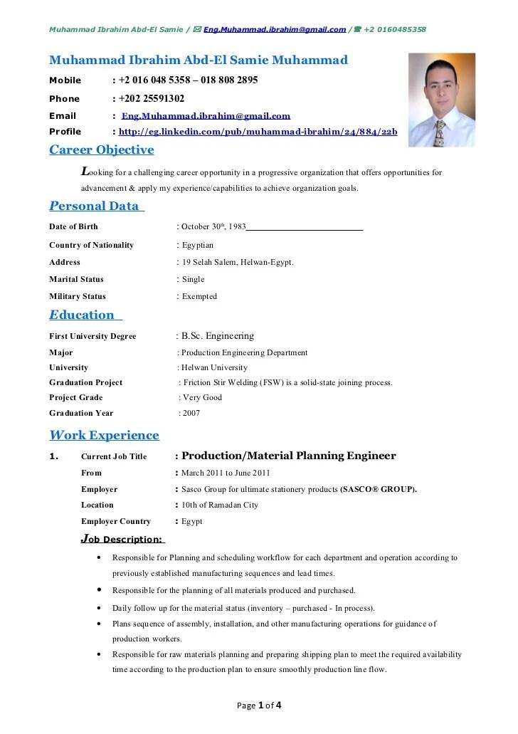cv english informatic skills