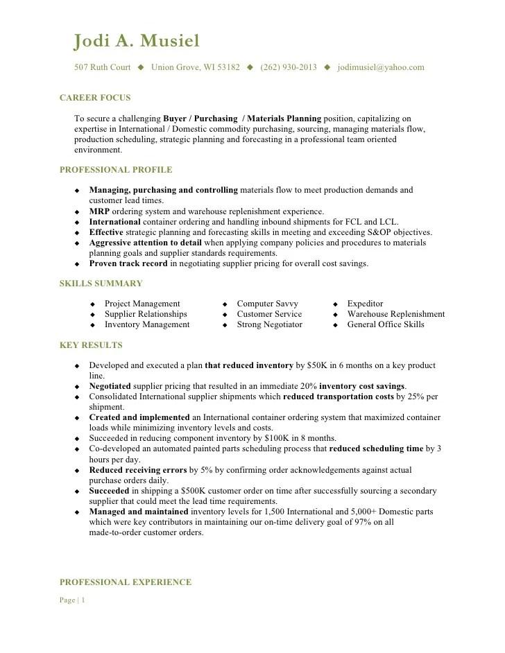 jewelry buyer resume samples