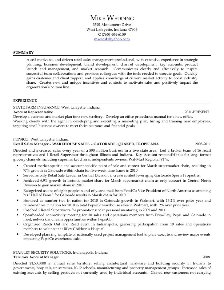 walmart manager resume - Onwebioinnovate - territory manager resume